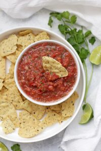 Our Favorite Fresh Salsa - Bright, fresh flavor and plenty of options for adding heat. This salsa is good on EVERYTHING.