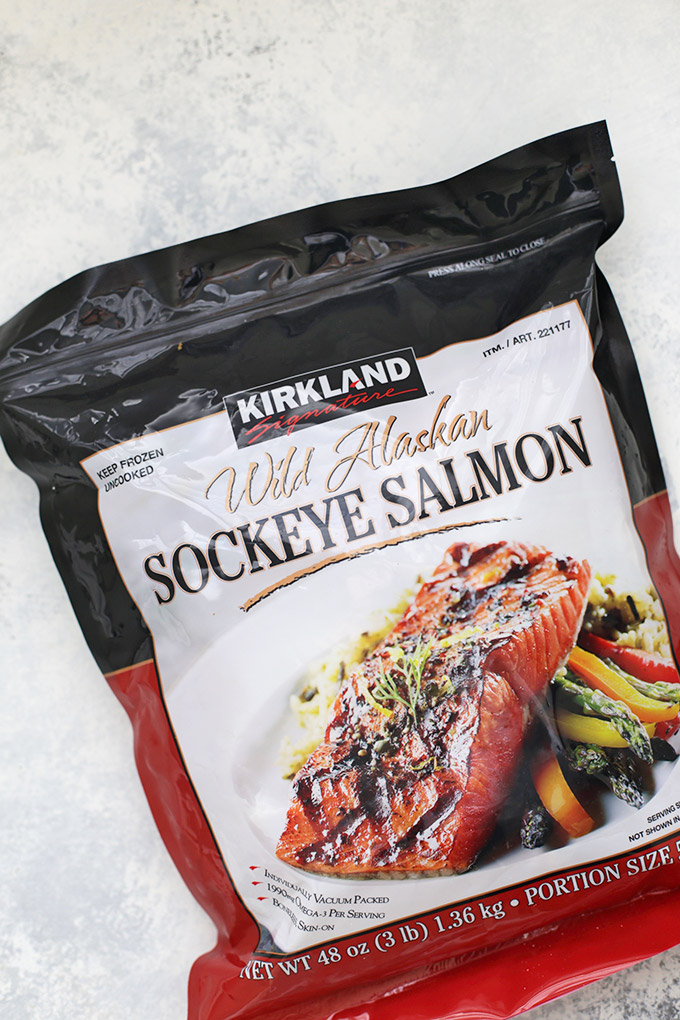 Gorgeous Wild Caught @alaskaseafood Salmon just ready for a glaze! #askforalaska #ic #ad