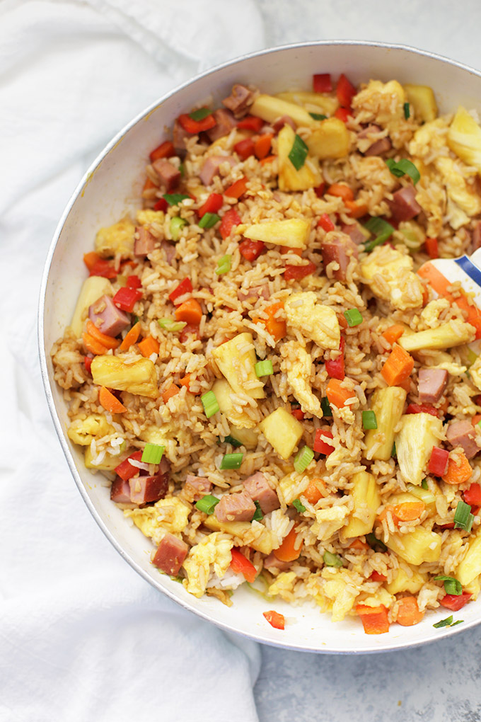 Pineapple Fried Rice - You'd never believe how good this is!