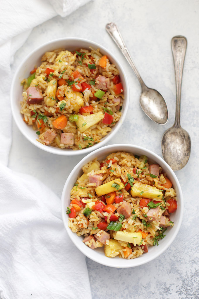 Pineapple Fried Rice - A family favorite! We all love this one!