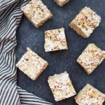 Toasted Marshmallow Rice Krispies Treats - Everything you love about the classic but BETTER! (Gluten Free, Dairy Free, and Vegan Friendly!)