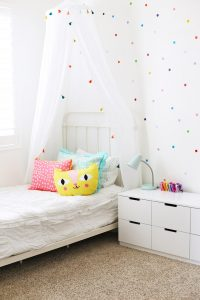 Sophie's Confetti Bedroom