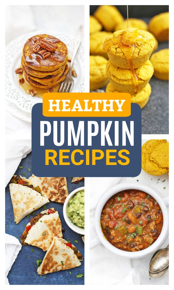 The best HEALTHY Pumpkin Recipes to make this season! Gluten free, vegan, and paleo options!