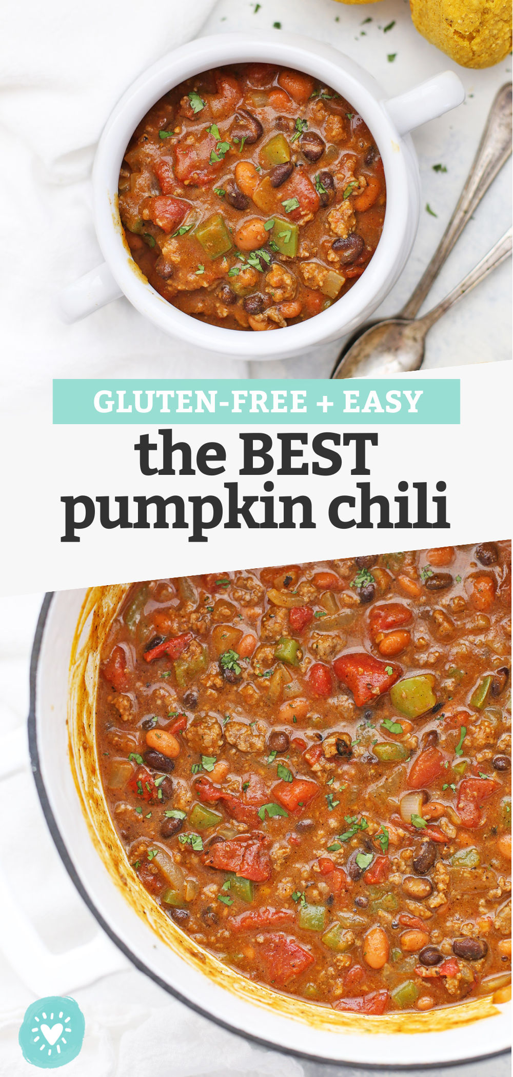 The BEST EVER Pumpkin Chili - This pumpkin chili recipe might just win you a prize! (gluten-free, paleo-friendly and vegan-friendly!) // pumpkin recipes // pumpkin soup // chili cook-off winner #pumpkin #chili #chilicookoff #glutenfree #dairyfree