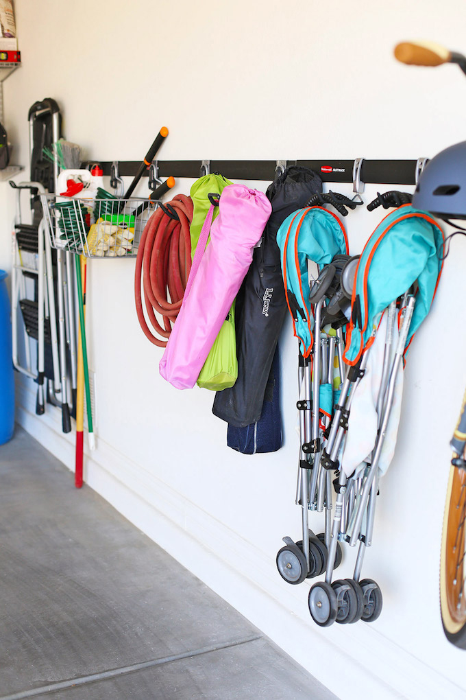 How to Organize Your Garage the EASY way! This system is such a life saver!