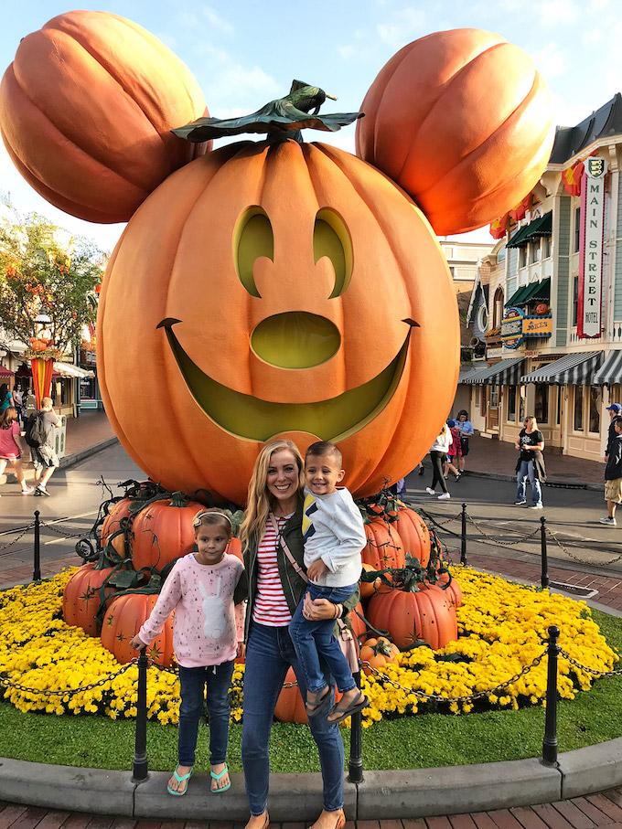 Gluten Free Disneyland at Halloween!
