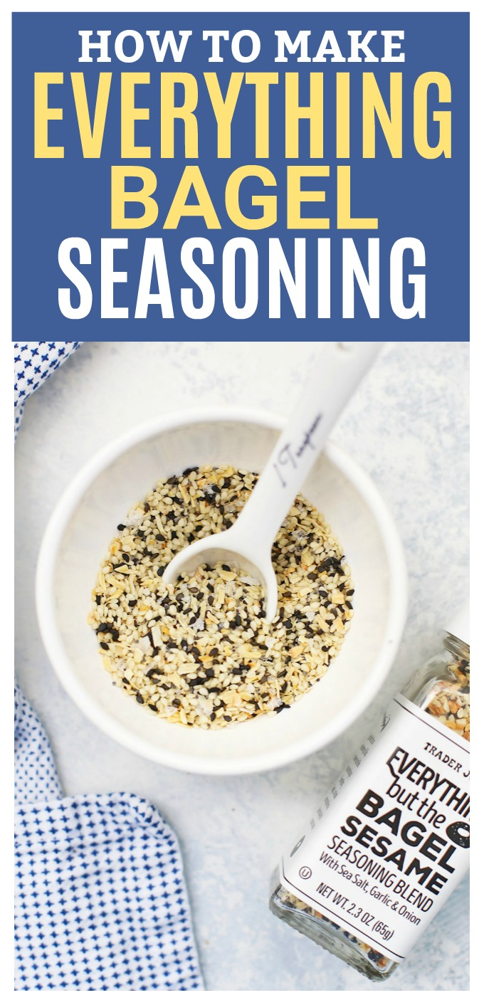 How to Make Everything Bagel Seasoning - Have you tried it? This copycat Trader Joe's seasoning is good on EVERYTHING!