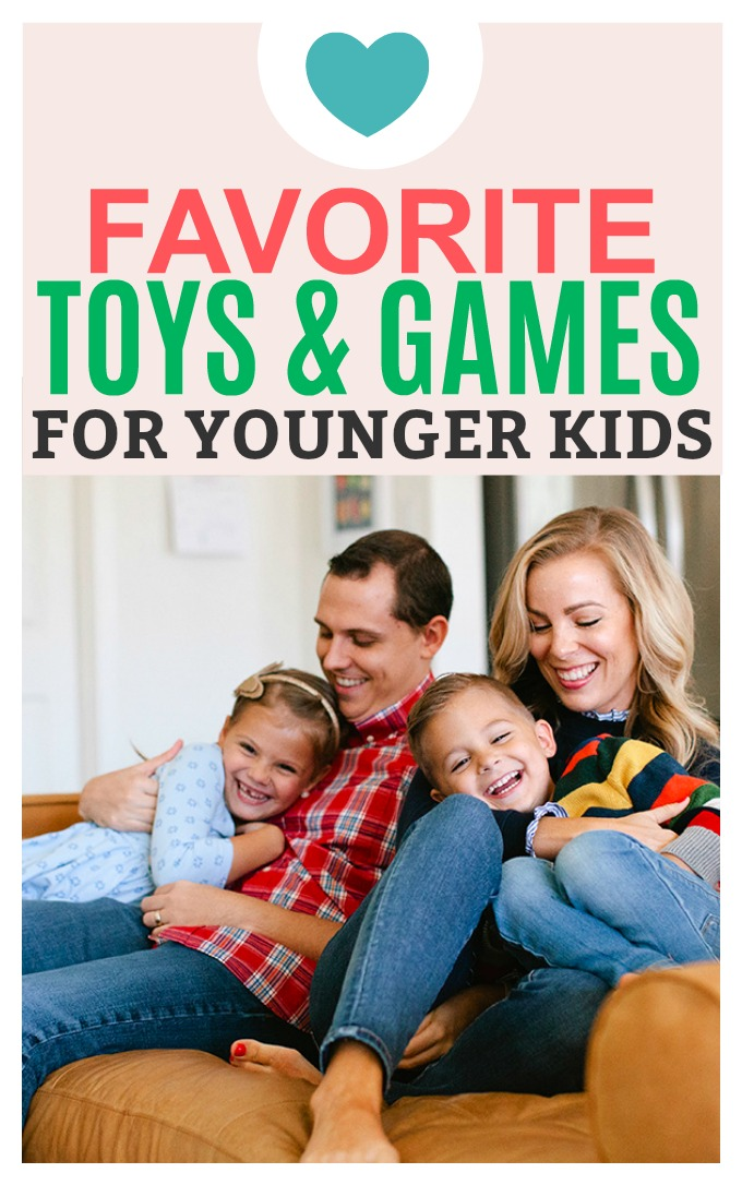 Favorite Toys, Games, and Gifts for Younger Kids! Awesome beginner games and classics that will last you YEARS!