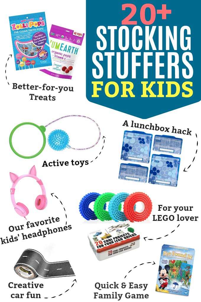 20+ Stocking Stuffers for Kids - These kids stocking stuffers are such a fun way to start Christmas morning!