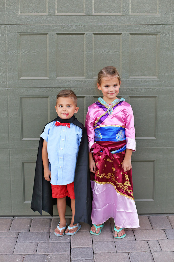 Five Fact Friday - Halloween Fun for this little vampire and Mulan.