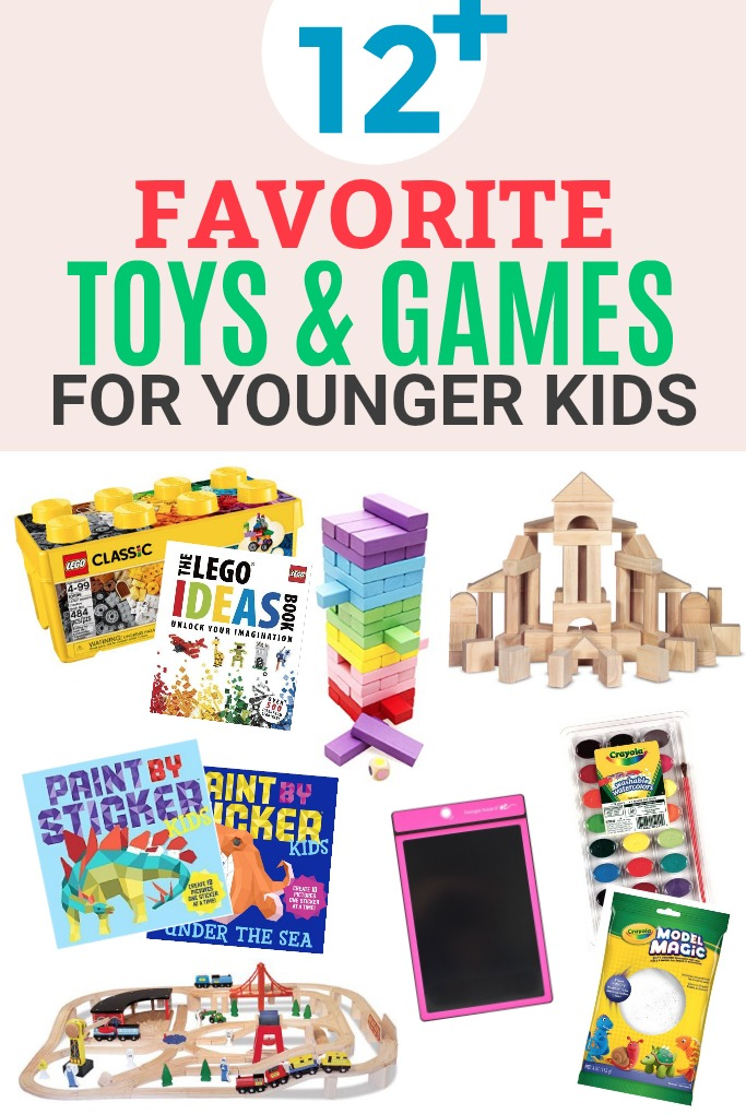 Favorite Toys and Games for Younger Kids! Awesome beginner games and classics that will last you YEARS!
