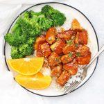 Gluten Free, Paleo Friendly HEALTHY Orange Chicken! We LOVE this!