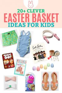 Easter Basket Ideas for Kids – Besides Candy!