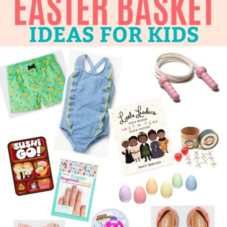 20+ Clever Easter Basket Ideas for Kids! - Fun ideas (besides candy!) for kids' Easter baskets.