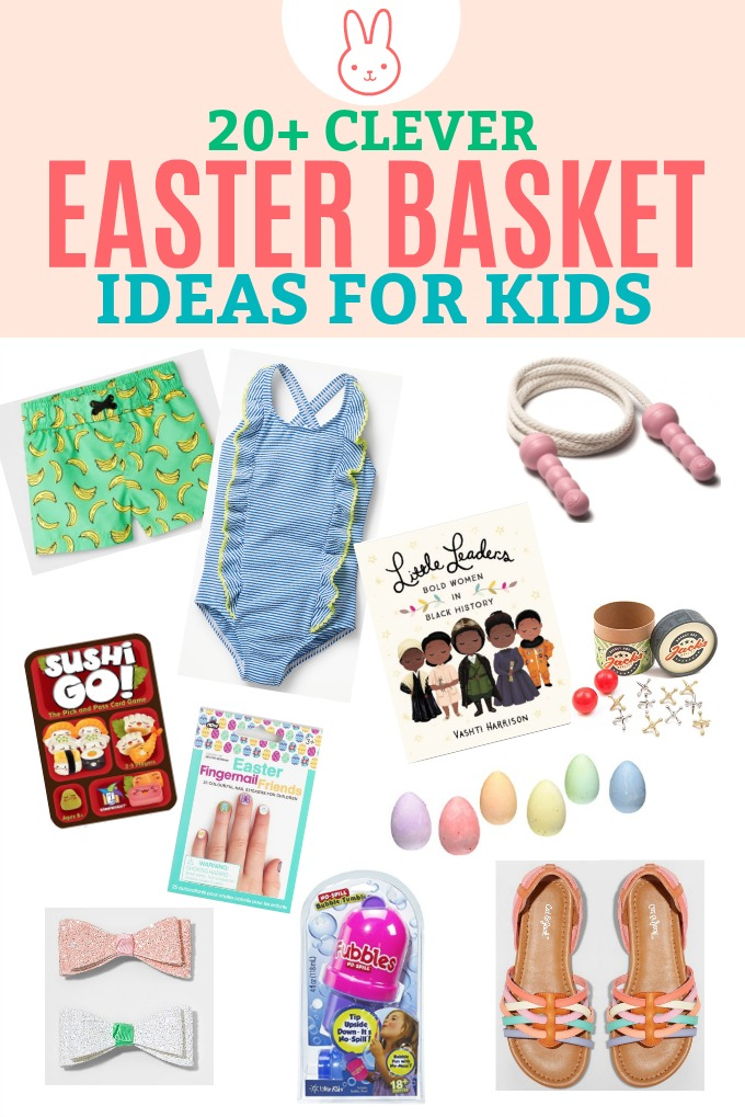 Easter basket ideas for kids besides candy one lovely life 20 clever easter basket ideas for kids fun ideas besides candy negle
