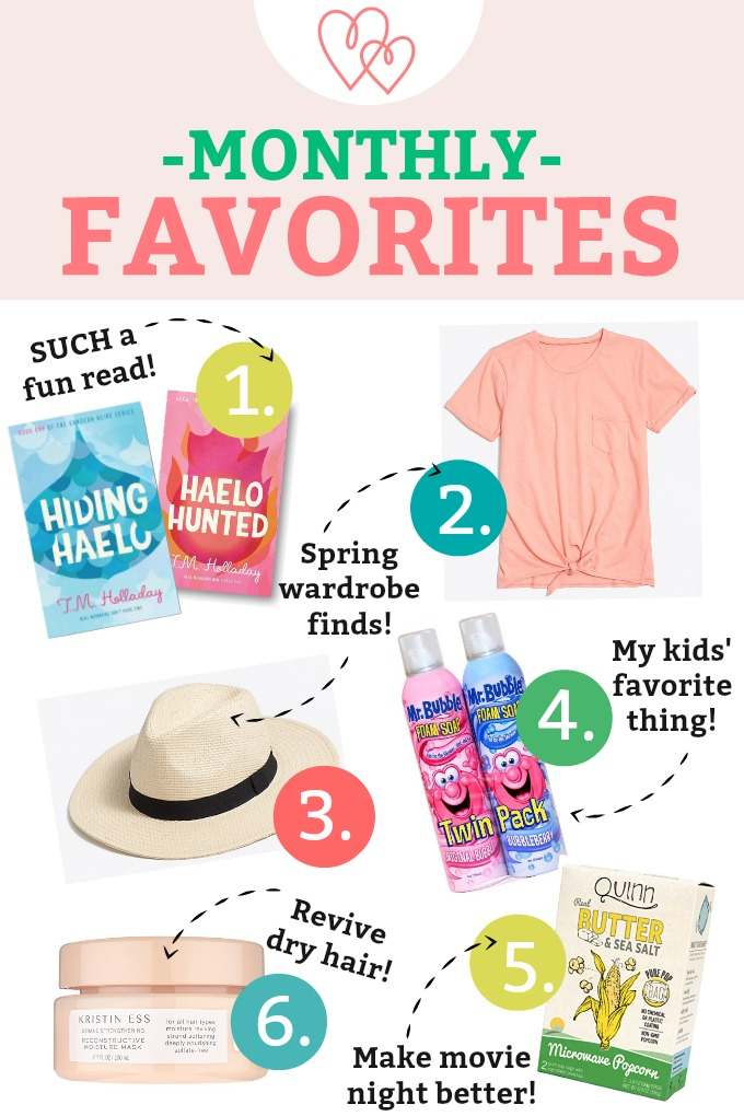 March Monthly Favorites - Everything we love lately! A killer tinted lip balm, an awesome panama hat, spring capsule finds, and more!