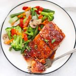 Sesame Ginger Salmon (Gluten Free & Paleo Friendly) - SUCH an easy weeknight dinner!