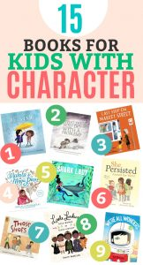 15 Books for Kids with Character