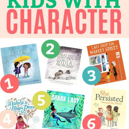 15 Books for Kids with Character - Picture books that teach kindness, empathy, courage, compassion, grit, and more!