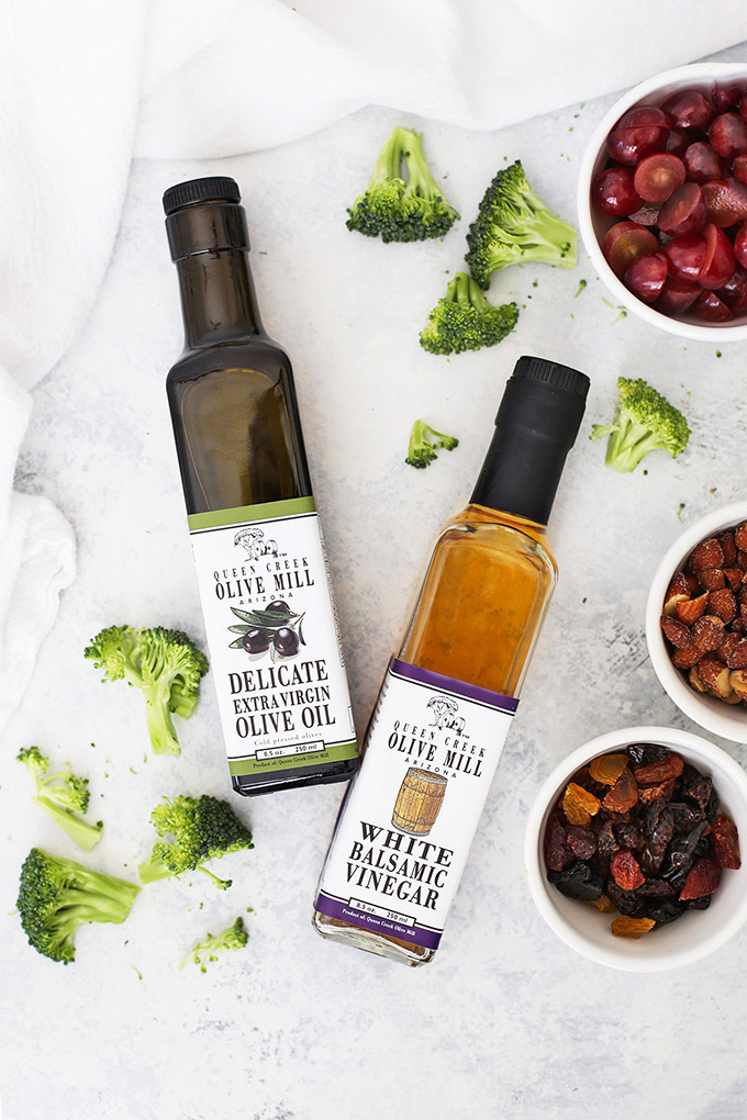 Queen Creek Olive Mill - My go-to for oils and vinegars! This balanced olive oil and white balsamic vinegar are perfect for my poppy seed dressing!