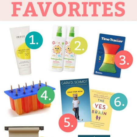 May Monthly Faves - All our favorites this month! From the podcast that might save summer to the sunscreens we LOVE, to some home decor and quiet time faves, it's a good list!