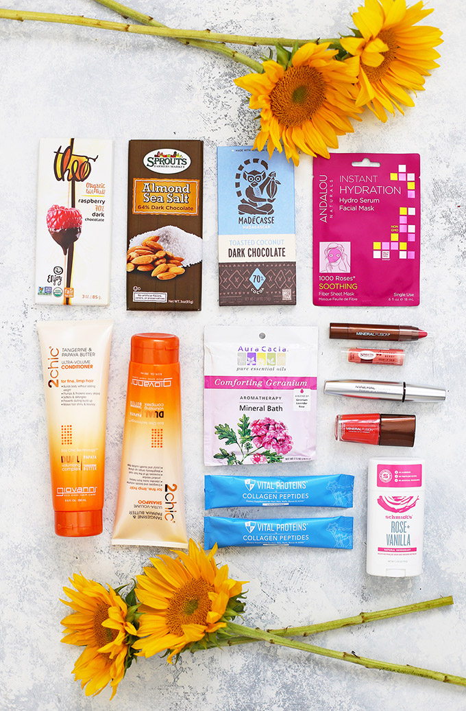 Natural Beauty Products! Our favorite natural beauty products--from makeup, to skincare, hair care, face masks, and more! (All available at @sprouts!)