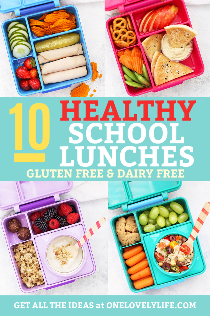 4 Healthy School Lunches Packed in Omie Box Lunch Boxes