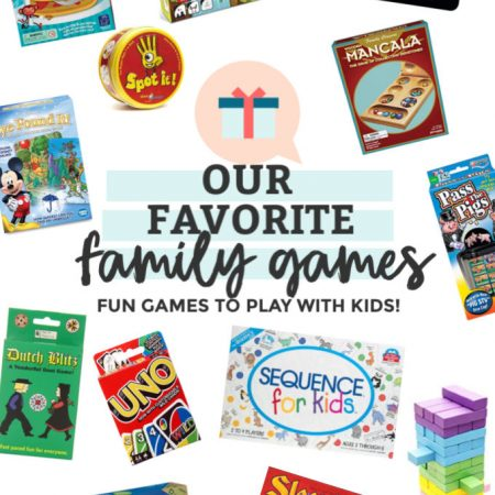 Our Favorite Family Games from One Lovely Life
