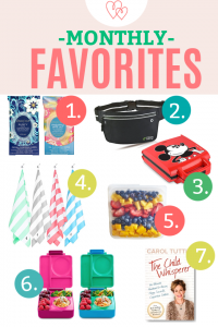 Monthly Favorites – July