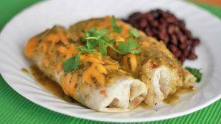 Green Chile Pork Burritos One Lovely Life