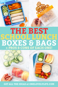 Our Favorite Lunch Boxes & Reusable Bags