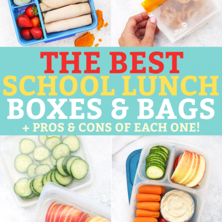School Lunch Packing Gear - Omie Box Lunchbox, Easy Lunchboxes lunch box, stashers bag, rezip bags.
