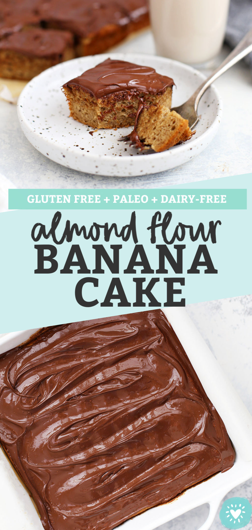 Almond Flour Banana Cake from One Lovely Life