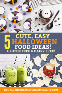 Cute, EASY Halloween Food Ideas (Gluten Free, Dairy Free, Vegan Options!)
