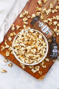 Gluten Free & Vegan Friendly Cinnamon Churro Popcorn by One Lovely Life