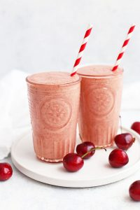 Very Cherry Smoothies from One Lovely Life