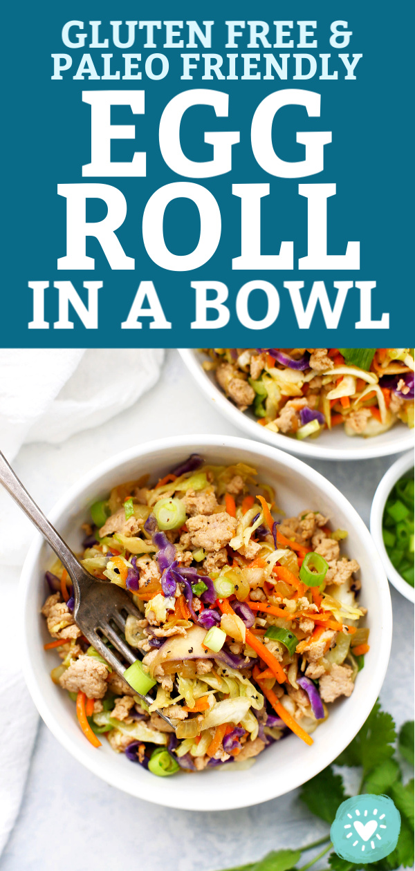 Egg Roll Bowls from One Lovely Life