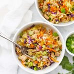 Egg Roll Bowl - A one pan deconstructed egg roll dinner that's done in 30 minutes!