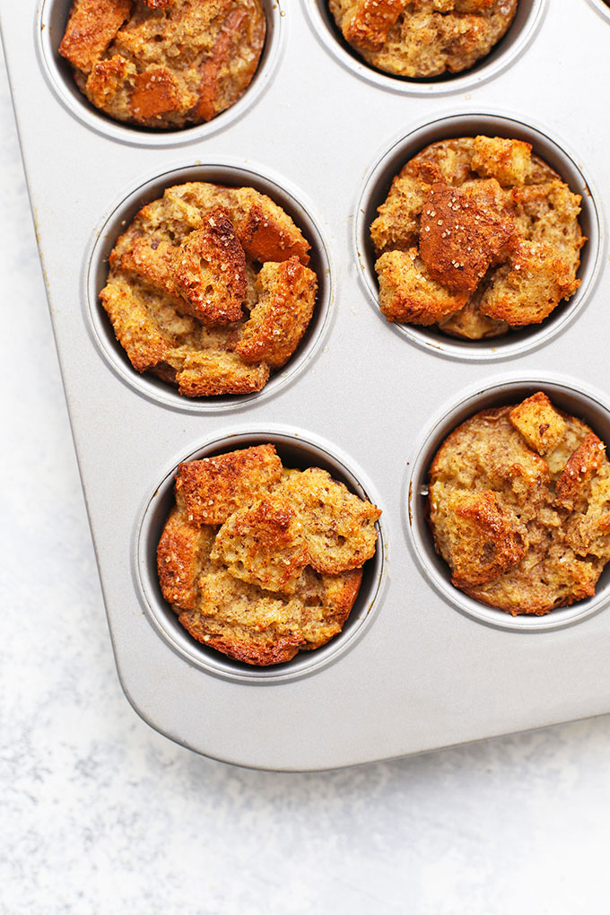 Gluten Free French Toast Cups (aka French Toast Muffins) from One Lovely Life