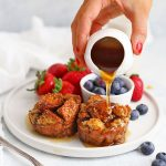 Gluten Free French Toast Cups & Syrup from One Lovely Life