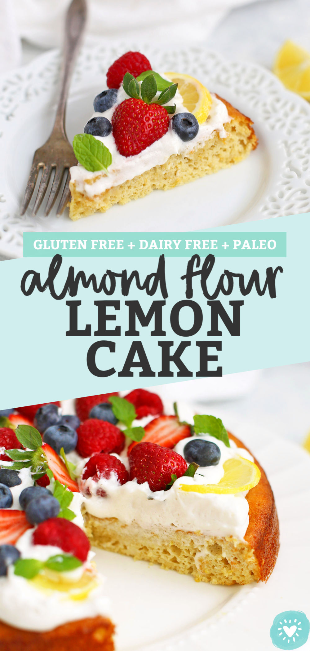 Almond Flour Lemon Cake from One Lovely Life
