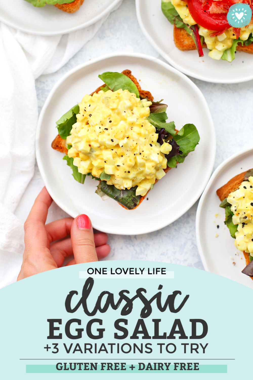 Classic Egg Salad from One Lovely Life