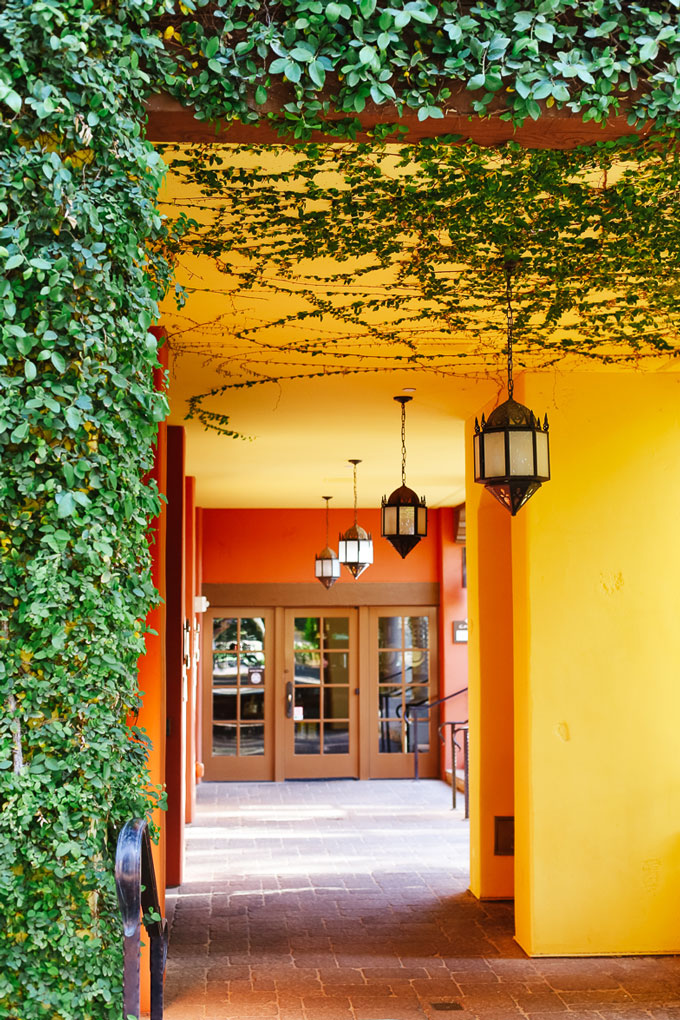 Spanish-Inspired Architecture at the Omni Montelucia Hotel in Scottsdale, Arizona