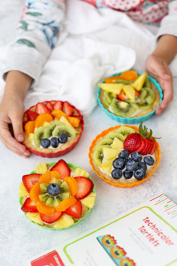 Raddish Kids Rainbow Fruit Tartlets
