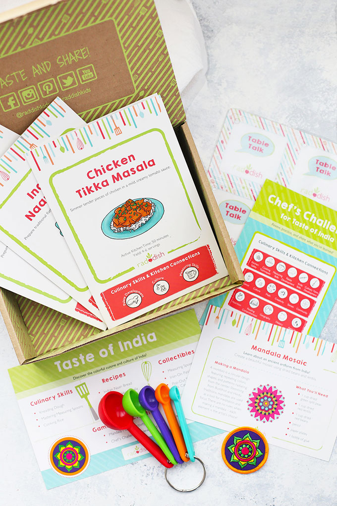 A Look inside a Raddish Kids Cooking Subscription Box