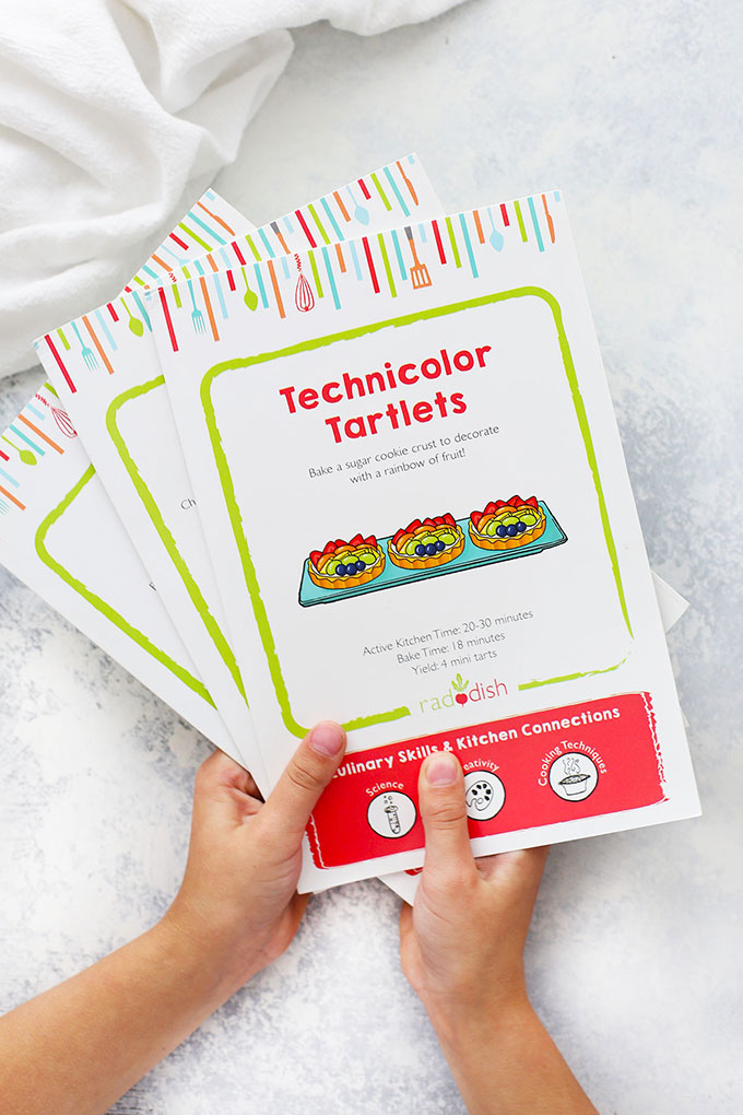 Raddish Kids Cooking Subscription - Illustrated Recipe Cards