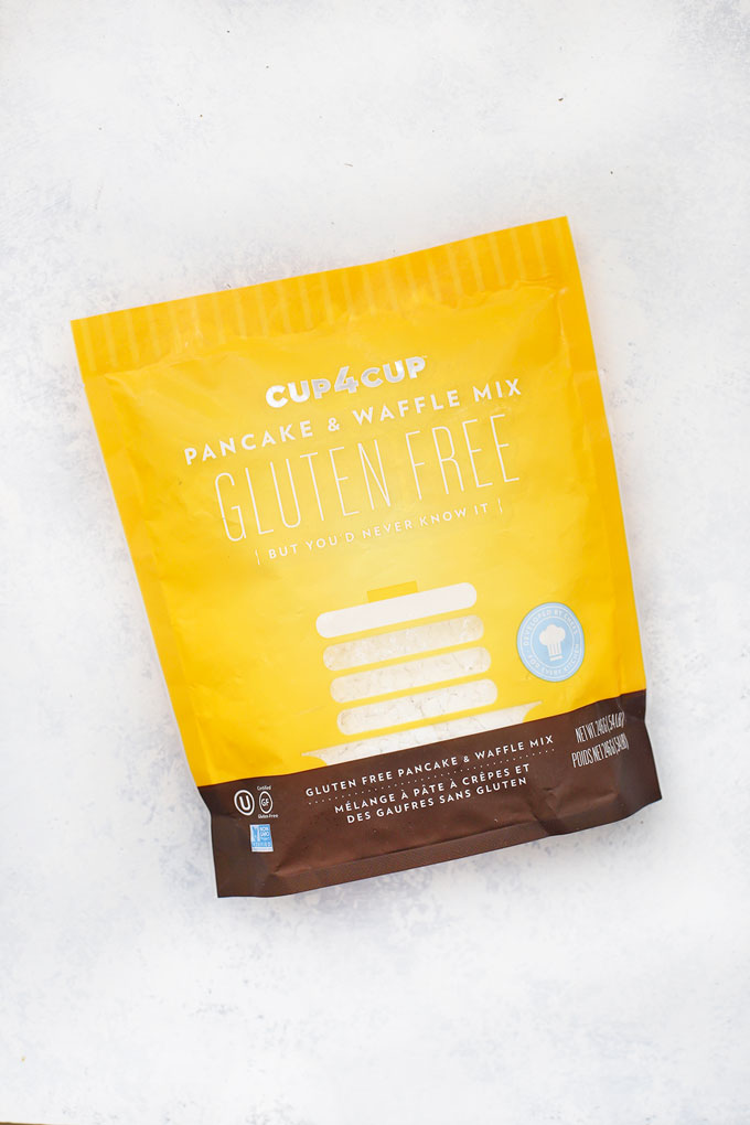 Cup4Cup Gluten Free Pancake and Waffle Mix