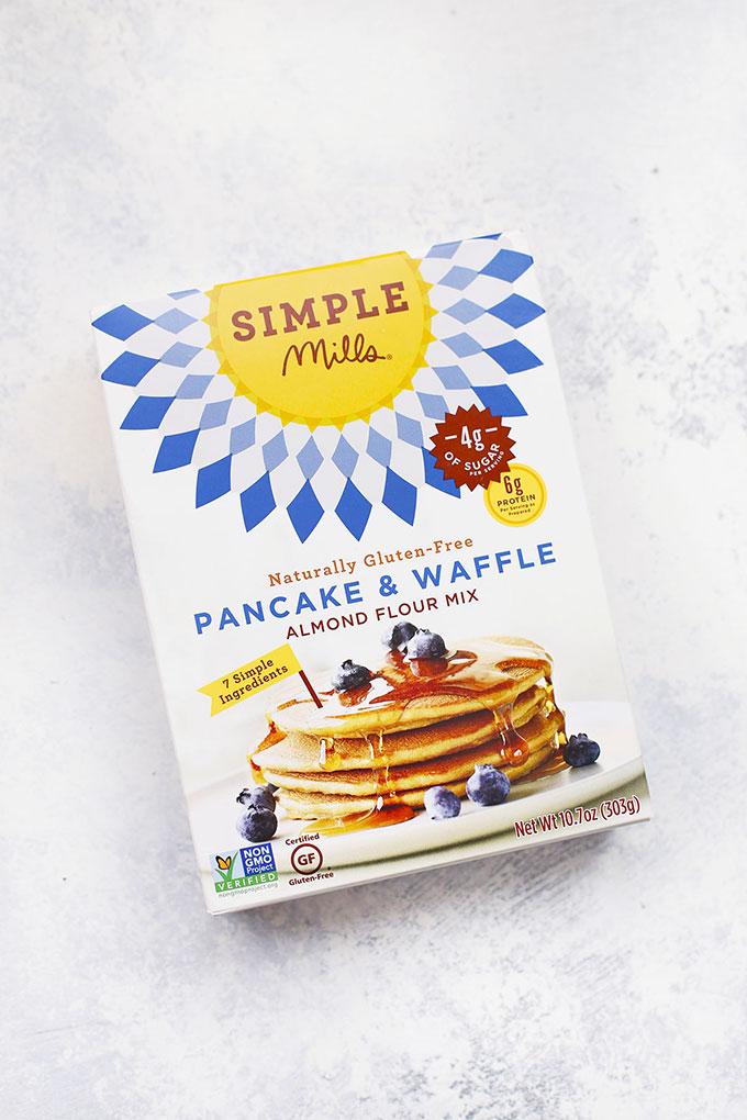 Simple Mills Gluten Free Pancake & Waffle Mix