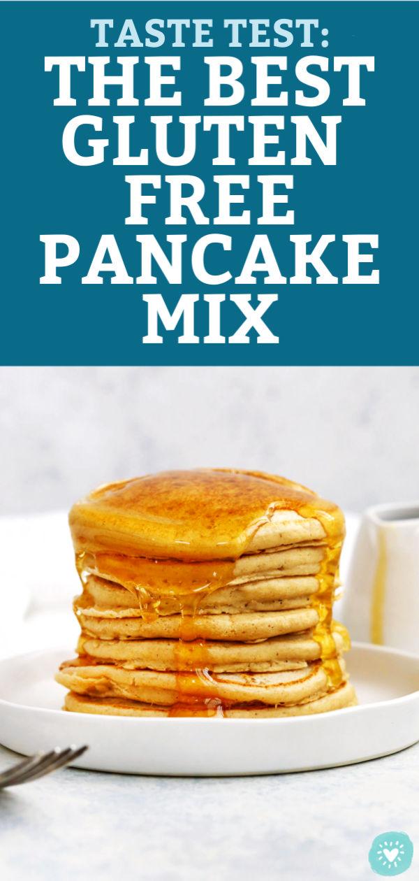 Taste Test: The Best Gluten Free Pancake Mix