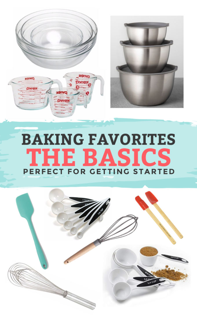 Our Favorite Kitchen Essentials for Baking